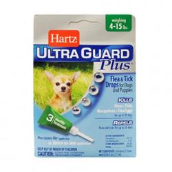 Hartz UltraGuard Flea & Tick Drops for Dogs & Puppies до 7 кг