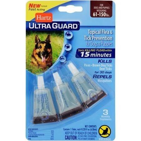 Hartz UltraGuard Flea & Tick Drops for Dogs & Puppies от 27 кг