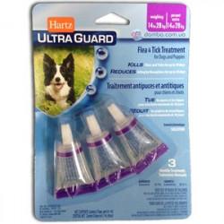 Hartz UltraGuard Flea & Tick Drops for Dogs & Puppies до 27 кг