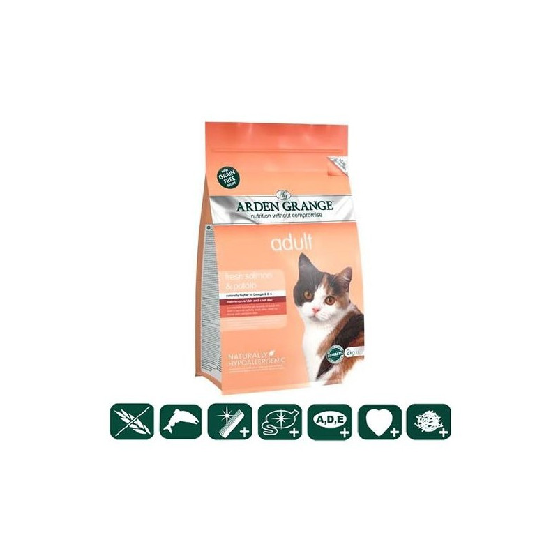 Arden Grange Adult Cat Fresh Salmon & Potato