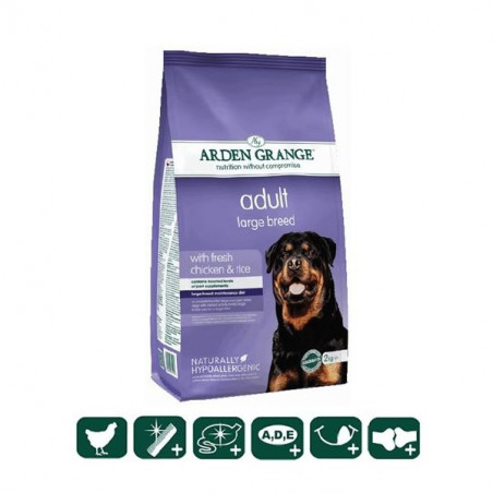 Arden Grange  Adult Dog Large Breed with fresh chicken & rice