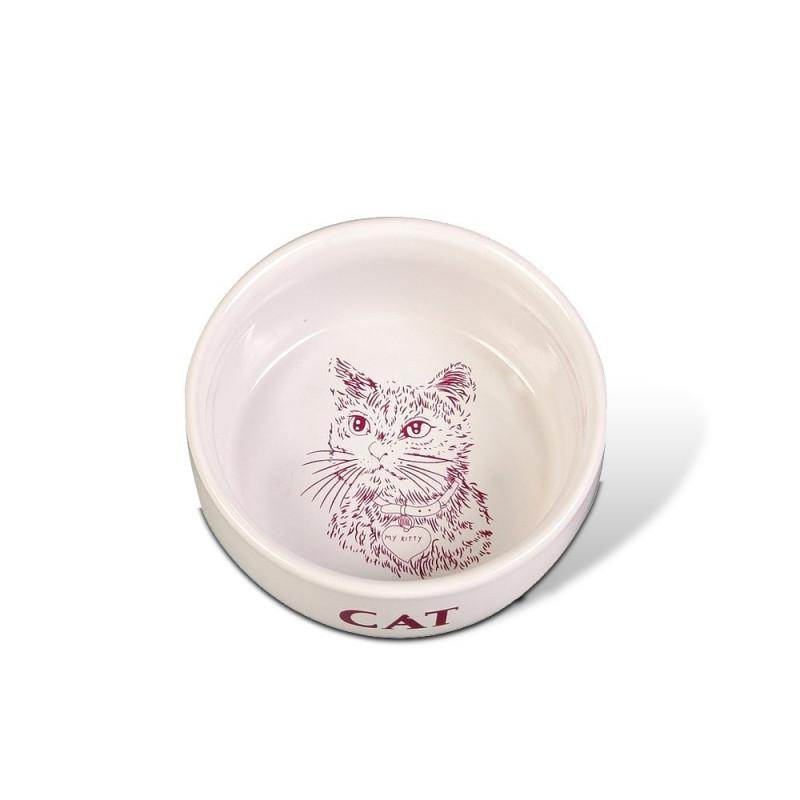 Trixie Кошка Миска керамика
