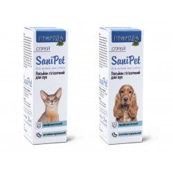 SaniPet Гигиенический лосьон-спрей для ушей