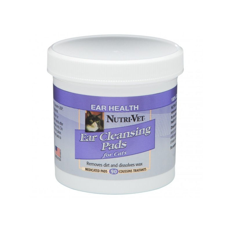 Nutri Vet Ear Cleansing Pads for Сats