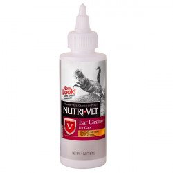 Nutri Vet Ear Cleanse for Cats
