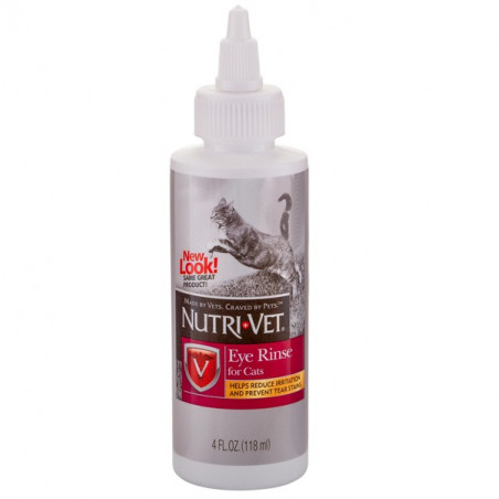 Nutri Vet Eye Rinse for Cats