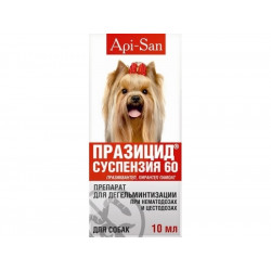 Api San Празицид-суспензия для взрослых собак