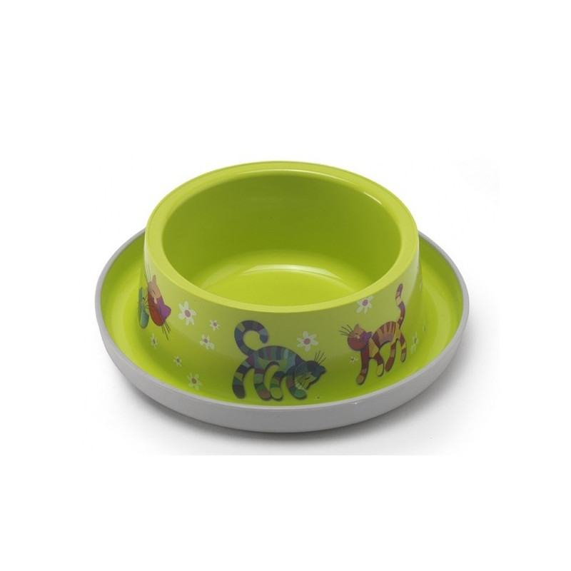 Moderna Trendy Dinner cat FF green миска