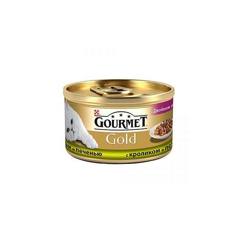 Gourmet Gold с кроликом и печенкой