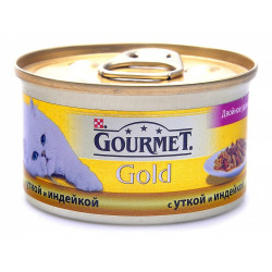 Gourmet Gold с уткой и индейкой