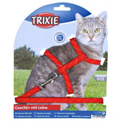 Trixie Набор шлея и поводок, светоотражающий