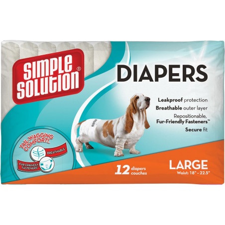 Disposable Diapers Large