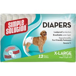 Disposable Diapers X-Large