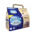 Catsan ULTRA plus Комкующийся наполнитель для кошачьих туалетов