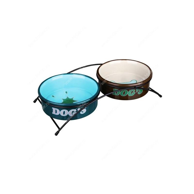 Trixie Colour Миска керамика с подставками