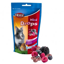 Trixie Fruit Mini Drops Berries