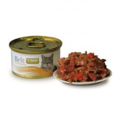 Brit Care Тунец, морковь и горошек в соусе