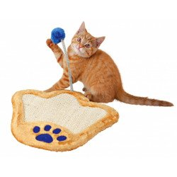 Trixie Когтеточка-коврик с игрушкой