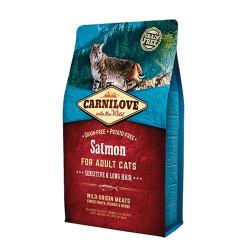 Carnilove Cat Salmon Sensitive & Long Hair