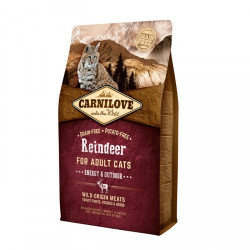 Carnilove Cat Raindeer Energy & Outdoor