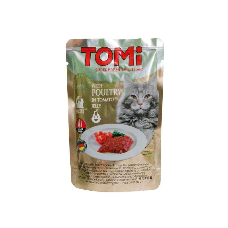 TOMi POULTRY in tomato jelly