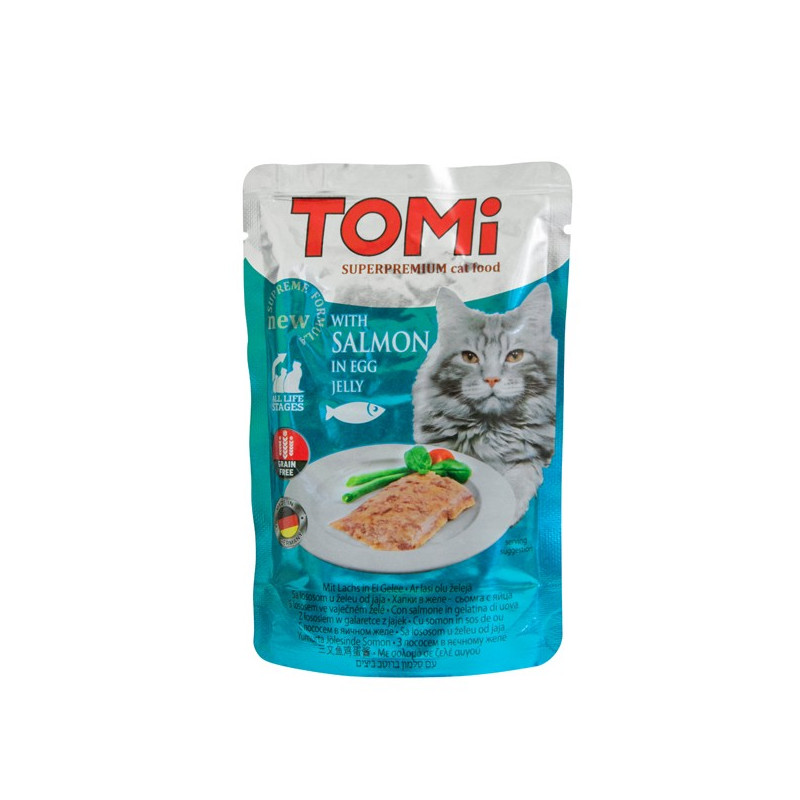 TOMi SALMON in egg jelly