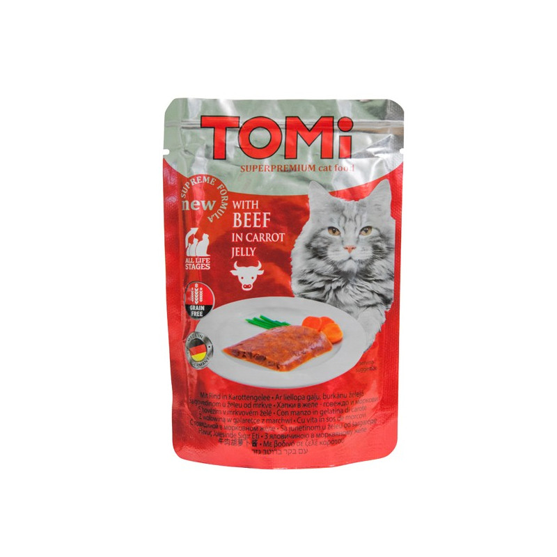 TOMi BEEF in carrot jelly