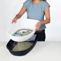 Trixie Berto туалет с бортами и решеткой для кошек