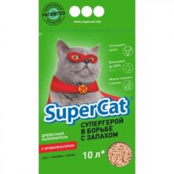 Super Cat Древесный с ароматом