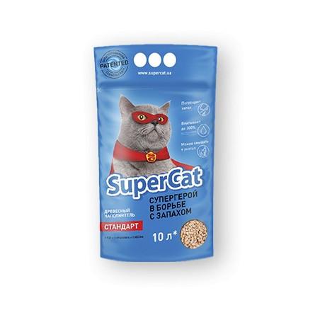 Super Cat Стандарт Древесный наполнитель