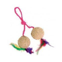 Игрушка для кошек Trixie 2 мяча джутовые