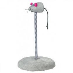 Игрушка для кошек Trixie Мышь на пружине