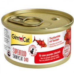 Gimpet Superfood ShinyCat с тунцом и помидорами