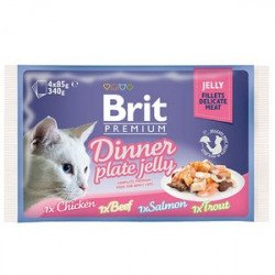 Brit Premium Dinner Plate Jelly Набор консерв