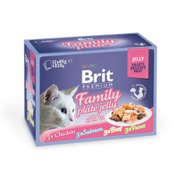 Brit Premium Family Plate Jelly Набор консерв