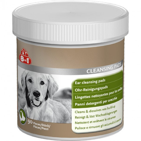 8in1 Ear Cleansing Pads
