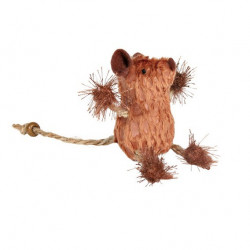 Игрушка для кошек Trixie Мышка с канатиками