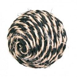 Игрушка для кошек Trixie Мяч 6,5 см сизаль