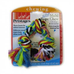 Petstages Цветной канат мини с узлами