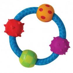 Petstages Канат-кольцо с мячиками