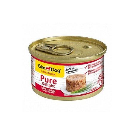 GimDog Pure Delight тунец и говядина в желе
