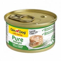 GimDog Pure Delight курица и ягненок в желе