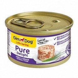 GimDog Pure Delight курица и тунец в желе