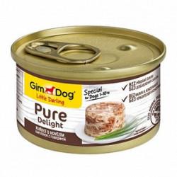 GimDog Pure Delight курица и говядина в желе