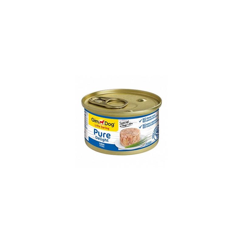 GimDog Pure Delight тунец в желе