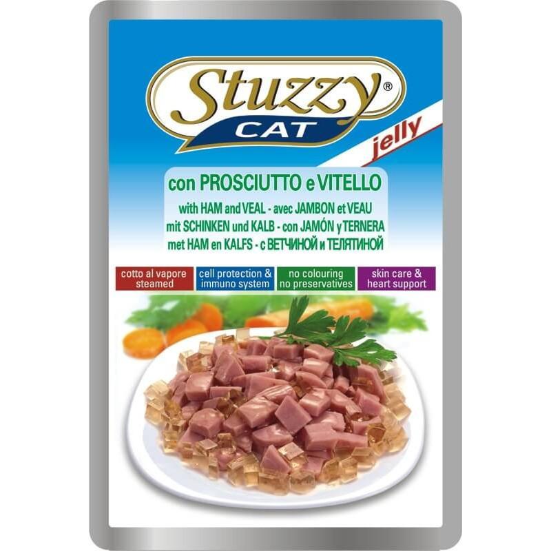 STUZZY Cat Ham Veal телятина в желе