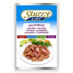 STUZZY Cat Veal телятина в соусе корм для кошек