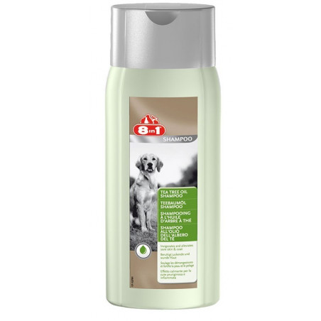 8in1 Шампунь с маслом чайного дерева для собак