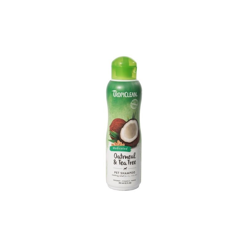 TropiClean Oatmeal & Tea Tree Шампунь