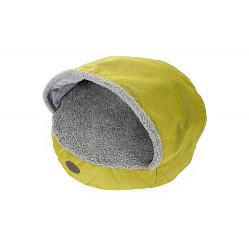 Лежак с капюшоном Cover Lime